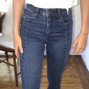 Abercrombie dark wash jeans